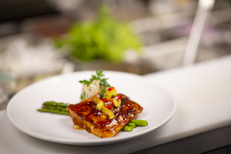 St. Anthony's Salmon and Asparagus